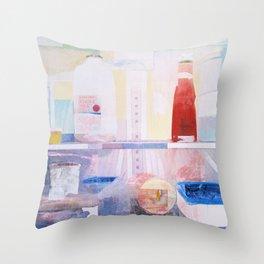 Starving Artist (J.P) Throw Pillow