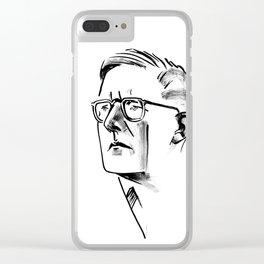 Shostakovich Clear iPhone Case