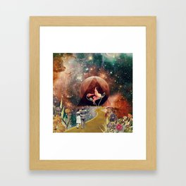 PinkFloyd Love Framed Art Print