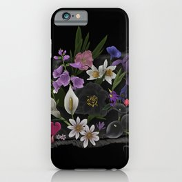 Poisonous Flowers iPhone Case