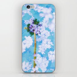 Palm Blossoms v2 iPhone Skin