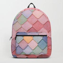Pink Tiles (Color) Backpack