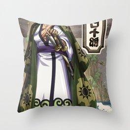 Zoro wano  - One piece Throw Pillow