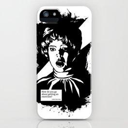 THE EXORCIST :: CHRIS MACNEIL iPhone Case