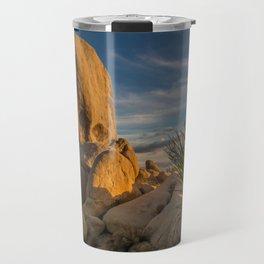 Joshua Tree Rock Formation Travel Mug