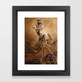 Flamenco Dancer Framed Art Print