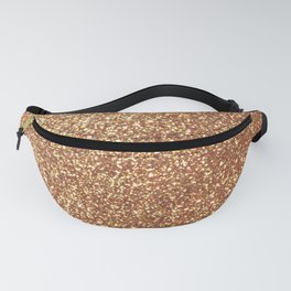 Bright Shiny Spanish Galleon Gold Glitter Fanny Pack
