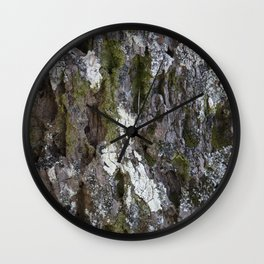 Old tree with character Wall Clock