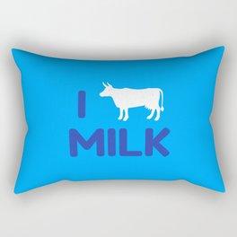 I heart Milk Rectangular Pillow