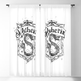 Slytherin Blackout Curtain