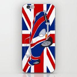 Shaguar (on Union Jack) iPhone Skin