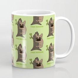 Black mask Frenchie is an environmental friendly tree hugger Coffee Mug