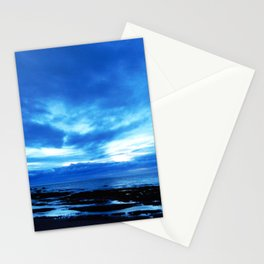 Arm from Above Plays with the Sunset Stationery Cards