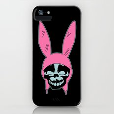 Grey Rabbit/Pink Ears iPhone (5, 5s) Slim Case