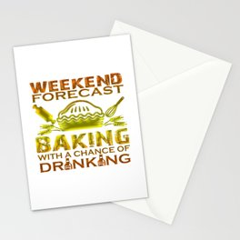 BAKING WEEKEND Stationery Cards