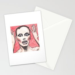 """Alyssa Edwards; """"She was the one backstabbing me behind my back!"""" Stationery Cards"""