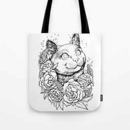 Color-Me Feline: English Short Hair Tote Bag