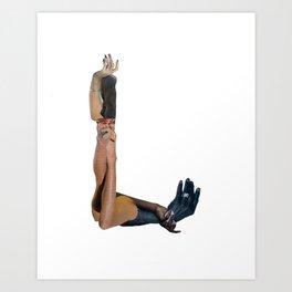 L Art Print