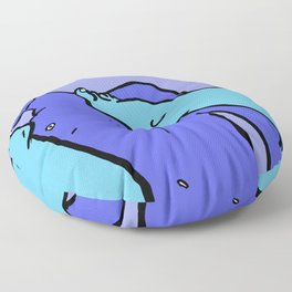 Footy Players Floor Pillow