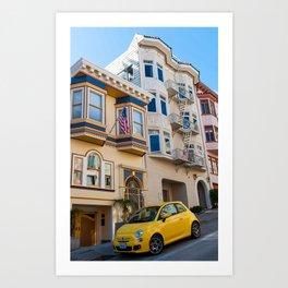 San Francisco Street Art Print