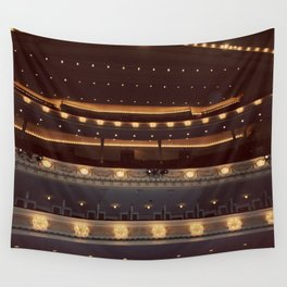 Chicago Orchestra Hall Color Photo Wall Tapestry