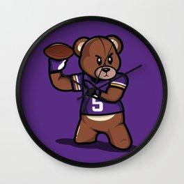 The Victrs - Teddy Football Wall Clock