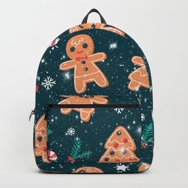Happy Gingerbread Cookies Backpack