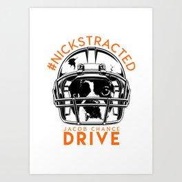 DRIVE By Jacob Chance Art Print