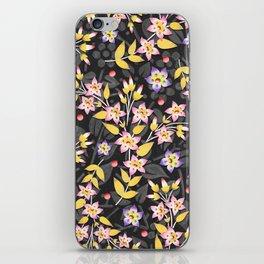 Rosy Garland iPhone Skin