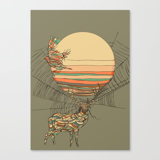 The Haunting Idle Canvas Print