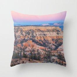 Evening at Bryce Throw Pillow