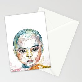 Young nun Stationery Cards