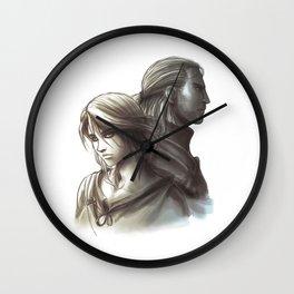 The Witcher 3 - Ciri / Geralt Artwork Wall Clock