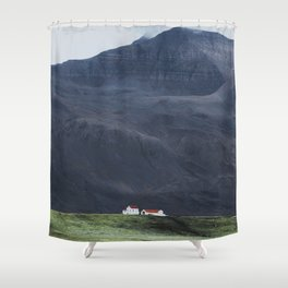 House Amongst Giants Shower Curtain