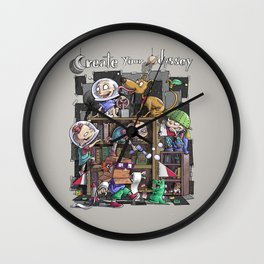 Create your Odyssey Wall Clock