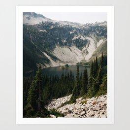 Lake Ann in North Cascades, WA Art Print