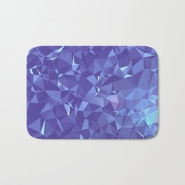 Blue Frost Bath Mat