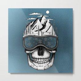 Skullorado v2 Metal Print