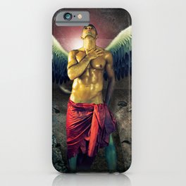 angel nude art iPhone Case