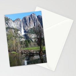 Yosemite Falls Stationery Cards