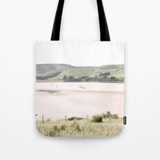 Boats on the water (color) Tote Bag