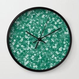 Lush Meadow Polka Dot Bubbles Wall Clock