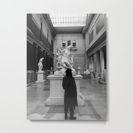 Two Lovers in New York Metal Print