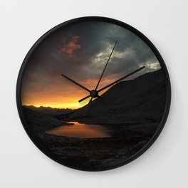 WHITNEY'S AMBER Wall Clock