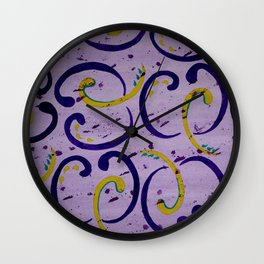Comma Wall Clock