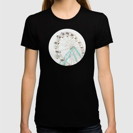 Ferris Wheel Abstract T-shirt