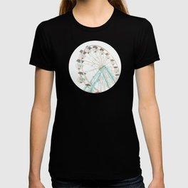 Ferris Wheel Abstract T-shirt