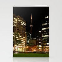 toronto Stationery Cards featuring Toronto by Michael Linnik
