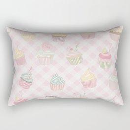 Cupcakes pattern Rectangular Pillow