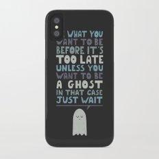 Motivational Speaker Slim Case iPhone X